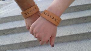 skater bracelets